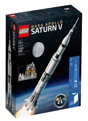 LEGO IDEAS 21309 (92176) NASA Apollo Saturn V - DON'T PAY ABOVE RRP !!! - NISB • 109.99£