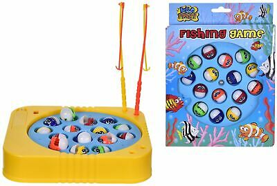 Rotating Magnetic Crazy Fish Fishing Game Kids Educational Toys • 6.99£