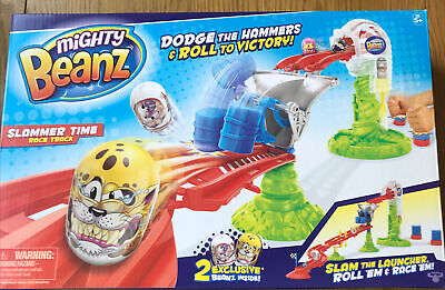 Mighty Beanz Slammer Time Racetrack - Includes 2 Exclusive Beanz Toys • 14£