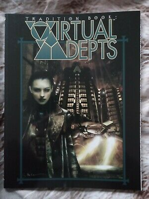 Tradition Book: Virtual Adepts For Mage The Ascension 2nd Edition Ww4660 • 20£