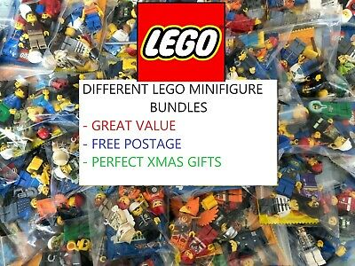 CHEAP LEGO MINIFIGURES Bundles/joblots - RANDOM, STAR WARS, NINJAGO, CMF Figures • 11.49£