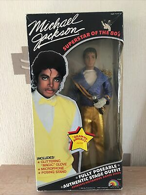 Ljn Michael Jackson Doll And Outfit !!!! Cool!!! • 90£