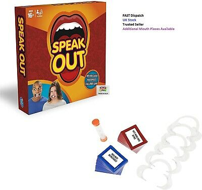 Speak Out Family Fun Game Ridiculous Challenge Game Christmas Birthday Gift • 9.99£