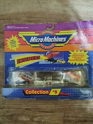 Micro Machines Insiders Collection 9 Sealed • 20.90£