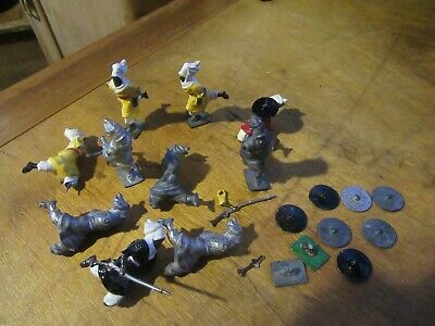 Ten Rare Vintage White Metal Castings Arab Figures  • 9.99£