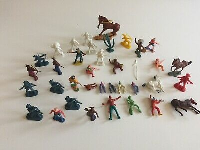 Vintage Toy Cowboys And Indians Joblot  • 1.99£
