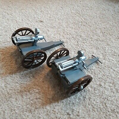 1/32 Timpo GATLING Gun ACW Wild West Toy Soldiers • 18£