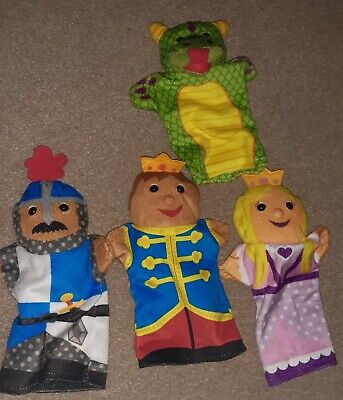 Melissa And Doug Hand Puppets • 5.50£