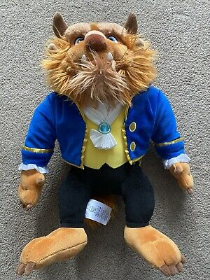 Disney Store Beast Soft Toy Plush 16 Inch- Beauty And The Beast • 4.99£