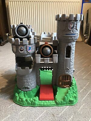 Fisher Price Medieval Adventure Castle Knights Canon Wizard Horses Dragon • 36£
