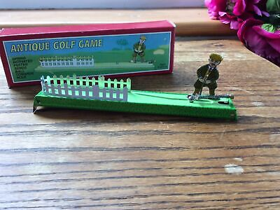 Schylling Collectors Series Antique Tin Plate Golf Game - Boxed • 9.50£