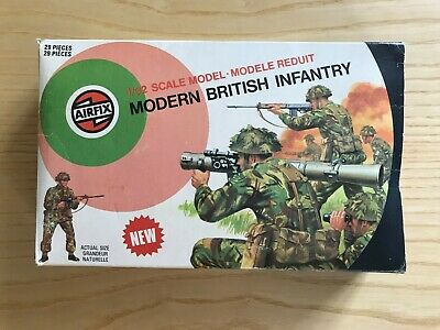 1:32 AIRFIX Model Soldiers - Modern British Infantry • 12.50£
