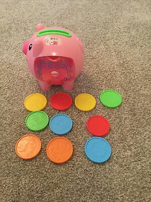 Fisher Price Laugh & Learn Pink Pig • 1.10£