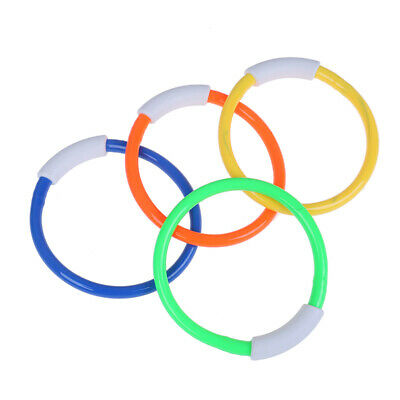 1x Summer Underwater Diving Rings Swimming Pool Kids Dive Ring Water Play Toy~JO • 3.47£