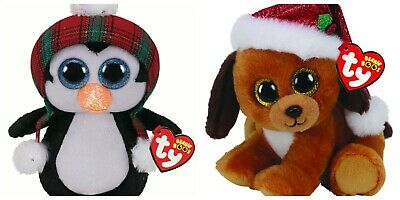 Ty Beanie Boos Baby Christmas 2020 Plush Soft Toy Cheer Howlidays Official Tags • 5.99£