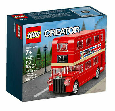 LEGO 40220 Creator Double Decker London Bus RETIRED BRAND NEW & SEALED BOX Gift • 19.99£