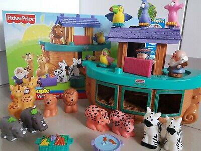 Fisher Price Little People Noahs Ark Age 1-5 Years • 7.25£