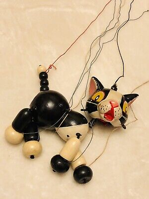 VINTAGE Early Rare PELHAM PUPPETS CAT • 65£