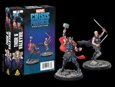 Marvel Crisis Protocol Thor And Valkyrie • 32.90£
