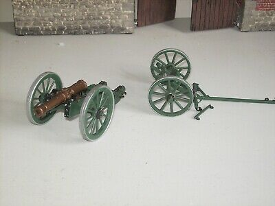 Napoleonic French Cannon And Towing Wheels Metal  1/32 Scale Editions Atlas • 18.99£