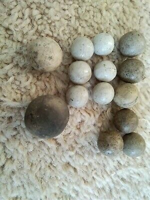 Victorian Pot Toy Marbles • 30£