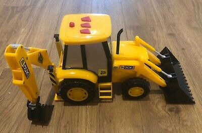 Yellow JCB Digger With Press Noises • 6£