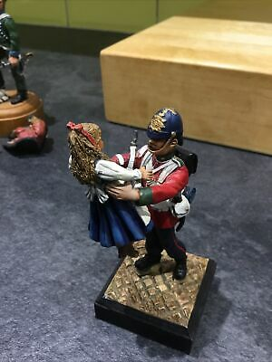 Authentic Miniatures Soldiers Return British Infantryman & Child 1890 • 15£
