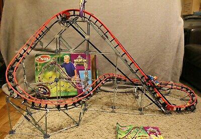 K'NEX Storm Mountain Rollercoaster Construction Toy Instructions Box • 34.99£