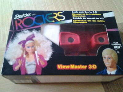 Rare Vintage  Barbie And The Rockers  3d  View-master Complete • 49.99£