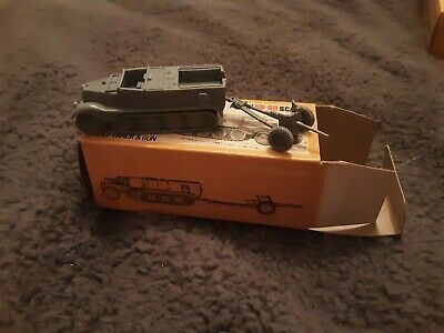 Vintage Airfix Poly Rare German Half Track And Gun HO OO,Boxed In Excellent Con • 69£