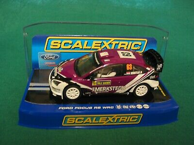 Scalextric C3202 Ford Focus Wrc Van Markstaijn #63 Rally Sweden 2010 4x4 Bnib • 44.99£