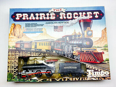 Vintage Timpo Prairie Rocket Train Set Boxed 1970s + Driver And Fireman VGC • 189.99£