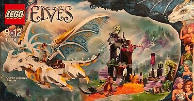 LEGO: Elves - Queen Dragon's Rescue Set (41179). New In Its Box. Age 9+ • 160£