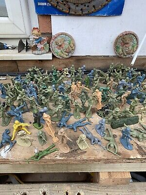 Job Lot Airfix Plastic World War 2 Toy Soldiers. • 6.51£
