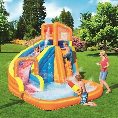 Brand New And Boxed Bestway H20GO! Turbo Splash Water Zone Mega Water Park Pool • 360£