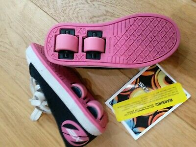 Fresh X2 Heely's Black/Pink Girl's Size 11 - Great Condition • 6.99£