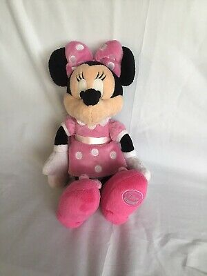"Offical Disney Store Mini Mouse Soft Toy Plush Teddy 13"" • 6.40£"