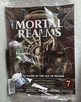 Warhammer AOS Mortal Realms Issue 7 Citadel Paint Games Workshop New Sealed OOP • 5.25£