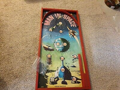 Rare Vintage Chad Valley  Man In Space , Pinball ,bagatelle   • 99.99£