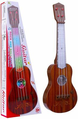 Childrens Kids Childs Easy Play Toy Musical Guitar In Retail Box New • 6.99£
