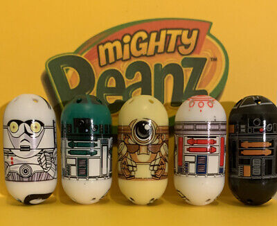 Moose Mighty Beanz Star Wars Special Edition Mail Order Set Of 5 Ultra Rare • 59.99£