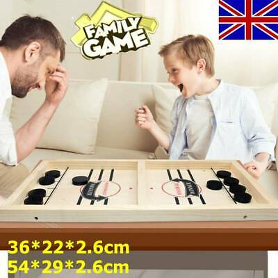 Table Board Games Hockey Board Game Fast Hockey Sling Puck Game Paced Sling UK • 10.88£