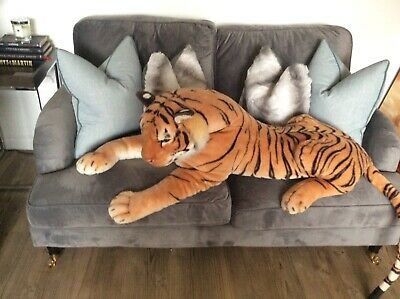 Stunning Giant Large Tiger Soft Toy Teddy • 15£