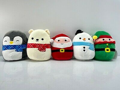5 X Squishmallows 7.5  Super Soft Cute Cuddle Plush Toys ***xmas Special*** • 30£