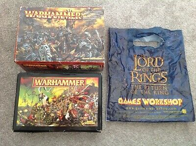 Games Workshop Warhammer EMPTY BOXES ONLY X 2 • 7£
