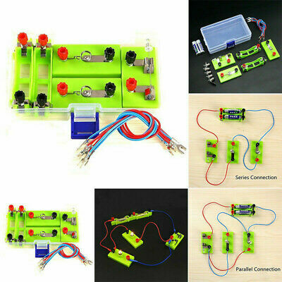 DIY Science Toys School Electric Circuit Kit Montessori Learning Experiment Kits • 6.29£