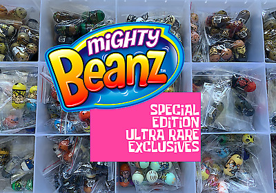 Moose Series ULTRA RARE SPECIAL EDITION EXCLUSIVES Mighty Beanz 2010 - Pick! (2) • 14.99£