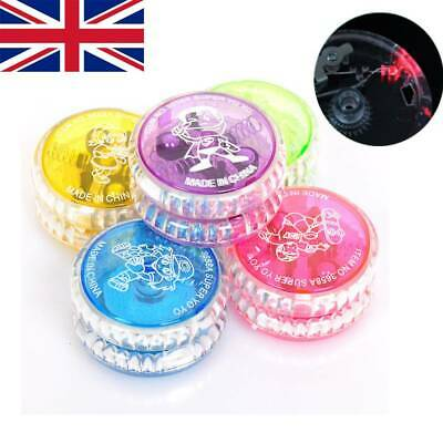 Yoyo Tricks Light Up Clutch 5cm LED Flashing Wheel Mechanism Kids Gift Toys • 5.26£