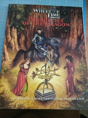 Wheel Of Time RPG Prophecies Of The Dragon Sourcebook • 29.99£