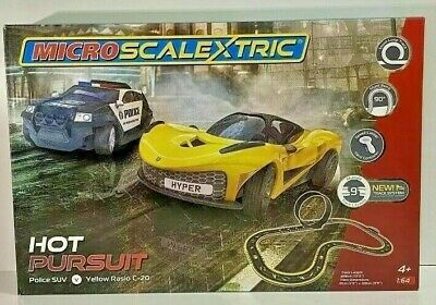 MICRO SCALEXTRIC  HOT PURSUIT  Set G1158, BRAND NEW (LTD QTY) LAST ONE !!! • 52£